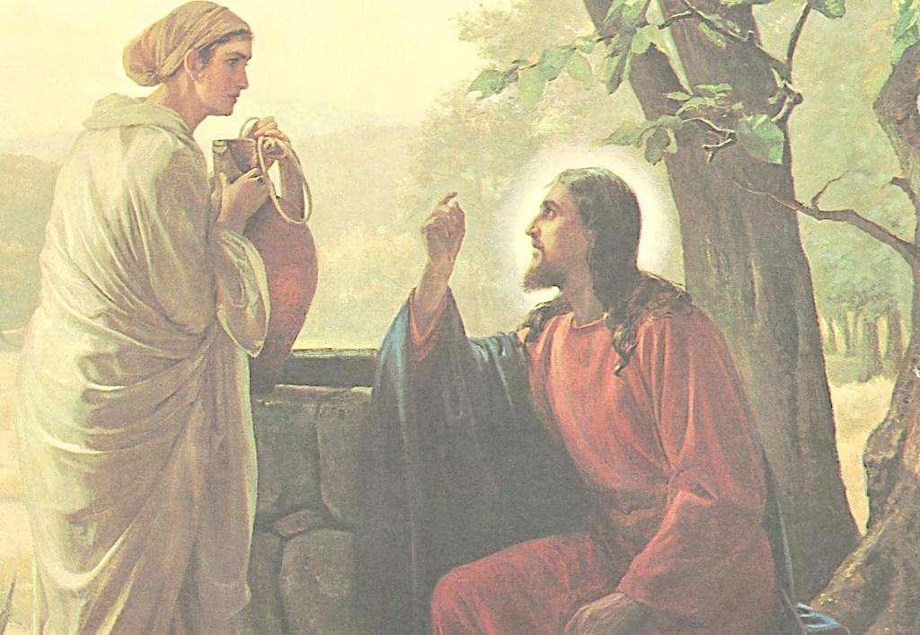 撒玛利亚妇人活水泉源